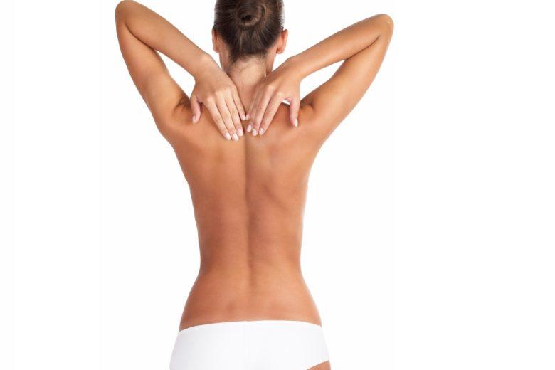 Красивая спина без угрей