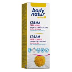 Крем для депиляции лица body natur